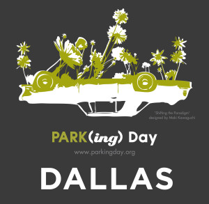 2014 PARK(ing) Day Poster