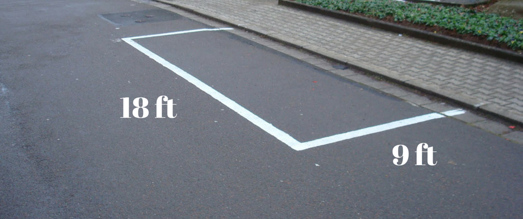 To some this is just an ordinary parking space. To us it's a canvas of possibilities.